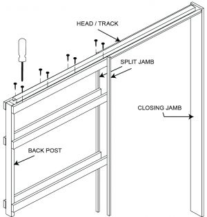 HUME HOW TO- Install a Cavity Unit | Hume Doors Sliding Door Picture Frame on